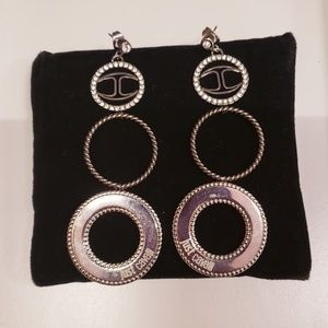 EARRINGS JUST CAVALLI DONNA COIN COLLECTION IN STE